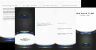 creer modele en ligne depliant 4 volets  8 pages  texture contexture structure MIF49118