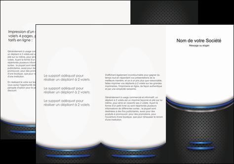 personnaliser maquette depliant 3 volets  6 pages  texture contexture structure MLGI49128