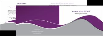 personnaliser maquette depliant 2 volets  4 pages  texture contexture structure MLGI49304
