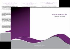 personnaliser modele de depliant 3 volets  6 pages  texture contexture structure MLGI49314