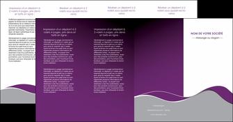imprimer depliant 4 volets  8 pages  texture contexture structure MLGI49336