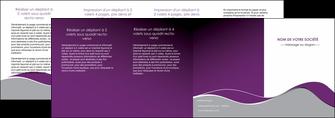 imprimer depliant 4 volets  8 pages  texture contexture structure MLGI49338