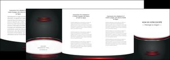 modele depliant 4 volets  8 pages  texture contexture structure MIDCH49396