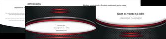 maquette en ligne a personnaliser depliant 2 volets  4 pages  texture contexture structure MIDCH49402