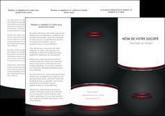 personnaliser maquette depliant 3 volets  6 pages  texture contexture structure MIDCH49412