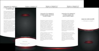 faire modele a imprimer depliant 4 volets  8 pages  texture contexture structure MIDCH49440
