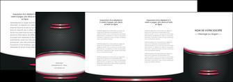 imprimer depliant 4 volets  8 pages  texture contexture structure MIF49500
