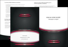 modele en ligne depliant 2 volets  4 pages  texture contexture structure MIF49502