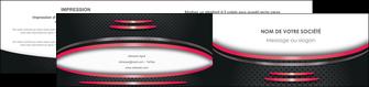 personnaliser maquette depliant 2 volets  4 pages  texture contexture structure MIF49506