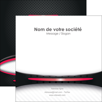 Impression impression flyer personnalisé  devis d'imprimeur publicitaire professionnel Flyers Carré 12 x 12 cm