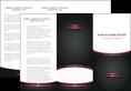 personnaliser modele de depliant 3 volets  6 pages  texture contexture structure MLGI49515