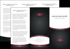 exemple depliant 3 volets  6 pages  texture contexture structure MIF49516