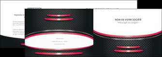 modele en ligne depliant 2 volets  4 pages  texture contexture structure MIF49524