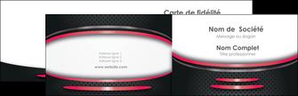 Impression carte de visite impression vernis selectif  Carte commerciale de fidélité devis d'imprimeur publicitaire professionnel Carte de visite Double - Paysage