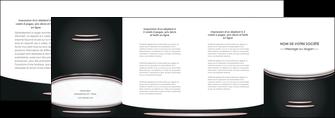 modele depliant 4 volets  8 pages  texture contexture structure MIF49878