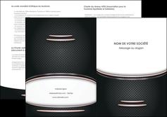 imprimer depliant 2 volets  4 pages  texture contexture structure MIF49880