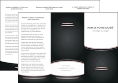 personnaliser maquette depliant 3 volets  6 pages  texture contexture structure MIF49894