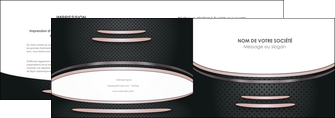 creation graphique en ligne depliant 2 volets  4 pages  texture contexture structure MIF49902