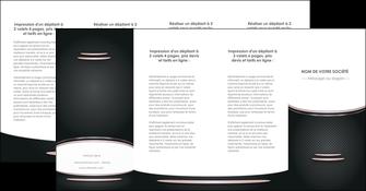 modele depliant 4 volets  8 pages  texture contexture structure MLGI49922