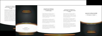 personnaliser modele de depliant 4 volets  8 pages  texture contexture structure MIF49930
