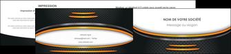 maquette en ligne a personnaliser depliant 2 volets  4 pages  texture contexture structure MIF49936