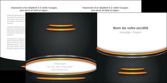 maquette en ligne a personnaliser depliant 2 volets  4 pages  texture contexture structure MIF49942