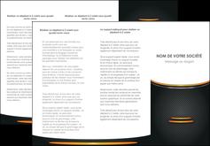 Commander modele plaquette premiers secours  papier publicitaire et imprimerie Dépliant 6 pages pli accordéon DL - Portrait (10x21cm lorsque fermé)