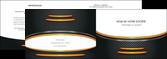 impression depliant 2 volets  4 pages  texture contexture structure MLGI49956