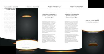 creer modele en ligne depliant 4 volets  8 pages  texture contexture structure MLIG49974