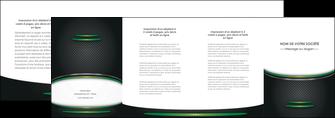 modele en ligne depliant 4 volets  8 pages  texture contexture structure MLIG49982