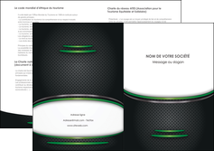 maquette en ligne a personnaliser depliant 2 volets  4 pages  texture contexture structure MLGI49984