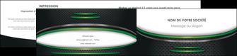 cree depliant 2 volets  4 pages  texture contexture structure MLIG49988