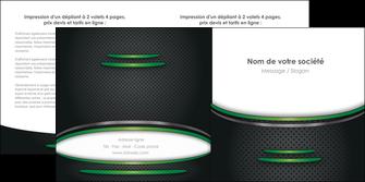 faire depliant 2 volets  4 pages  texture contexture structure MLIG49994