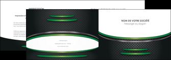 faire modele a imprimer depliant 2 volets  4 pages  texture contexture structure MLIG50006