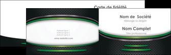 Commander Promo Pack Multi Cartes de visite  Carte commerciale de fidélité modèle graphique pour devis d'imprimeur Carte de visite Double - Paysage