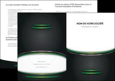 creation graphique en ligne depliant 2 volets  4 pages  texture contexture structure MLIG50018