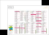 impression affiche calendrier bancaire 2019 a3 calendrier de bureau 12 mois MLGI50090