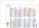 impression affiche calendrier bancaire 2017 a3 calendrier de bureau 12 mois MLGI50090