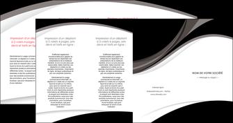 imprimerie depliant 4 volets  8 pages  texture contexture structure MIF50094