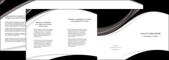 faire modele a imprimer depliant 4 volets  8 pages  texture contexture structure MIF50096