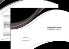 modele depliant 2 volets  4 pages  texture contexture structure MLIG50100