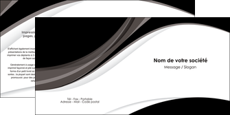 imprimerie depliant 2 volets  4 pages  texture contexture structure MIF50108