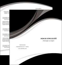personnaliser modele de depliant 2 volets  4 pages  texture contexture structure MLIG50110