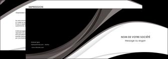 creer modele en ligne depliant 2 volets  4 pages  texture contexture structure MLIG50122