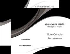 personnaliser modele de carte de visite texture contexture structure MIF50130