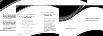 impression depliant 4 volets  8 pages  texture contexture structure MIF50142