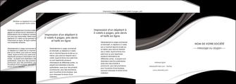 impression depliant 4 volets  8 pages  texture contexture structure MLIG50142