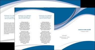 personnaliser maquette depliant 4 volets  8 pages  texture contexture structure MIS50146