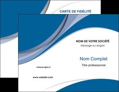 Impression Carte De Visite 85x54 Mm Commerciale Fidlit