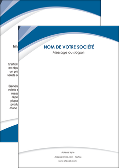 Impression Feuille volante / Prospectus  papier à prix discount et format Flyer A6 - Portrait (10,5x14,8 cm)